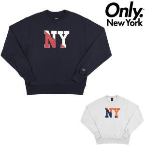 オンリーニューヨーク トレーナー ONLY NY NY CREW CHAMPION REVERSE WEAVE CREW NECK チャンピオン クルーネック リバースウィーブ ONLY NEW YORK|pajaboo