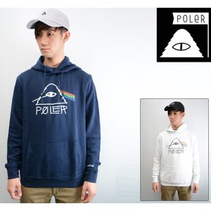 POLeR CAMPING STUFF PSYCHEDELIC HOODIE 正規取扱店  ポーラー パーカー|pajaboo
