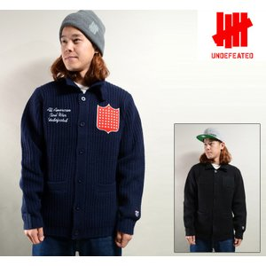 UNDEFEATED FRANCIS SWEATER (2色展開) アンディフィーテッド ニット 517020|pajaboo