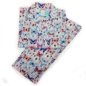パジャマ レディース ブランド 前開き 長袖 綿 BedHead Pajamas ベッドヘッドパジャマズ A Flutter|pajamas