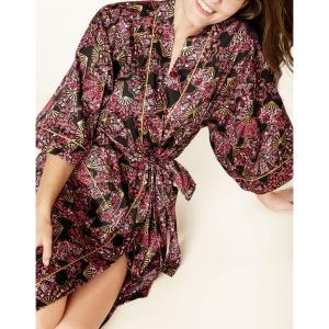 ガウン ローブ レディース コットン BedHead Pajamas ベッドヘッドパジャマズ Fan Dance|pajamas