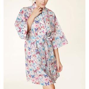 ガウン ローブ レディース コットン BedHead Pajamas ベッドヘッドパジャマズ A Flutter|pajamas