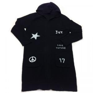 ルームウェア カーディガン ブランド 春 薄手 ロング ブラック 黒 e.siエトワールシーニュ|pajamas