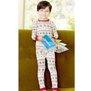 パジャマ キッズ ブランド 長袖 130 BedHead Pajamas ベッドヘッドパジャマズ Penguin Fairisle|pajamas
