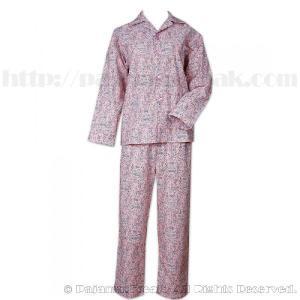 パジャマ レディース ブランド 前開き 長袖 綿 The Cat's Pajamas Eiffel Tower Pink|pajamas