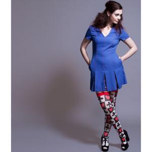 ワンピース レディース Alice's pig アリスズピッグ Emily's Electron Blue|pajamas