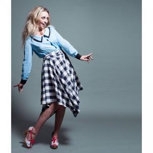 スカート レディース Alice's Pig アリスズピッグ Darcey's Django Skirt Blue|pajamas
