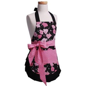 子供エプロン Flirty Aprons Midnight Bloom|pajamas