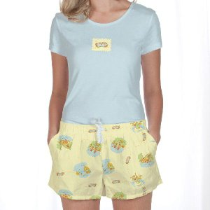 Tシャツ&ショートパンツセット Munki Munki Road Trip|pajamas