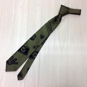 ネクタイ シルク ジャガード メンズ TIEDNISTA. タイドニスタ Army カーキ 日本製|pajamas