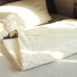 綿の市松シール織りブランケット(シングルサイズ)上質オーガニックコットンが気持ちいい綿毛布 プリスティン pajamaya