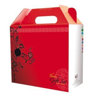 【ギフトセット】ギフト用の箱(赤・小) 箱包装 ギフト プレゼント 韓国料理 韓国食材 韓国食品|paldo