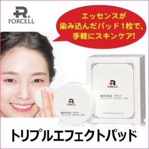 『ポセル』リーボックス -トゥトリプルエフェクトパッド(10パッド×6個) FOCELL エッセンスパッド 手軽にスキンケア 栄養供給 生気 しっとり 韓国コスメ|paldo