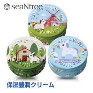『seaNtree シーNツリー』ドンキーミルクウォータードロップクリーム3点セット(35g×3個) 保湿補水クリーム 水分クリーム ロバミルク 韓国コスメ|paldo