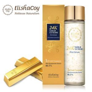 『エリシャコイ』24Kゴールドラグジュアリーファーストセラム(160ml) 24K GOLD ファーストセラム 透明肌集中保湿 ELISHACOY  韓国コスメ|paldo