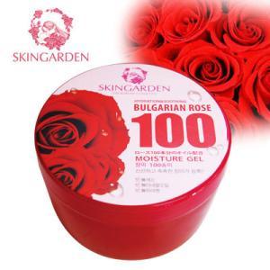 『スキンガーデン』ブルガリアンローズ100 モイスチャージェル(300ml) ダマスクローズオイル 集中保湿ケア 韓国コスメ|paldo