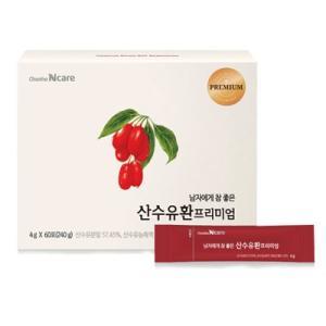 『チョンホ食品』サンスユ(山茱萸)プレミアム|山茱萸(4g×60包) 健康補助食品 気力回復 滋養強壮 韓国食品|paldo