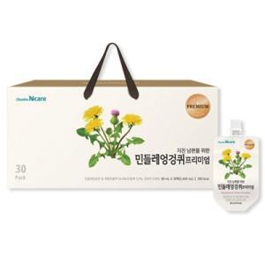 『チョンホ食品』タンポポとアザミエキス(80ml×60個) タンポポ アザミ デトックス 濃縮液 健康補助食品 韓国食品|paldo