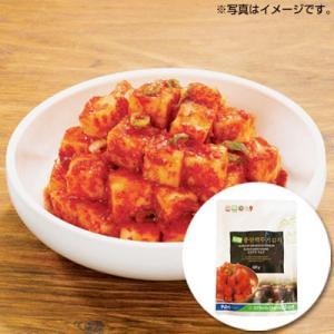 『韓国農協』カクテキ|大根サイコロキムチ(500g) 大根キムチ 韓国キムチ 韓国おかず 韓国料理 韓国食材 韓国食品|paldo