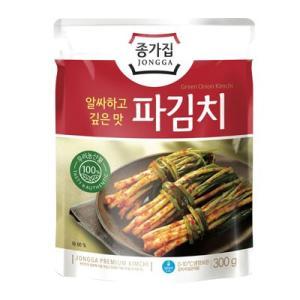 『宗家』パキムチ ネギキムチ(300g)■100%韓国産小ねぎ使用 チョンガ 韓国キムチ 韓国おかず 韓国料理 韓国食材 韓国食品 paldo