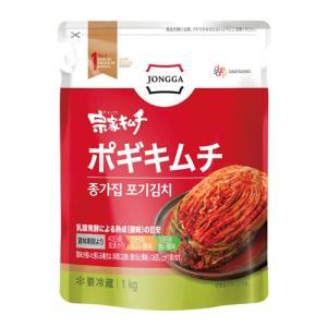 『宗家』 白菜キムチ ポギキムチ(1kg) チョンガ 白菜キムチ キムチ 韓国食材 韓国食品 paldo
