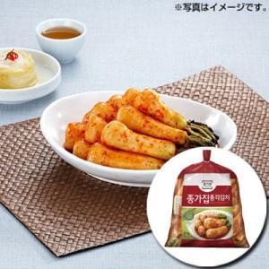 『宗家』チョンガクキムチ|大根キムチ(5kg) チョンガ 韓国キムチ 韓国おかず 韓国料理 韓国食材 韓国食品|paldo