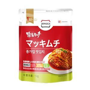 【当店おすすめ】『宗家』マッキムチ|切り白菜キムチ・一口サイズ(1kg) チョンガ 白菜キムチ 一口キムチ 韓国キムチ 韓国食材 韓国食品|paldo