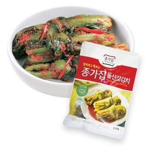 『宗家』カッキムチ からし菜キムチ(350g) チョンガ 韓国キムチ 韓国食材 韓国食品 paldo