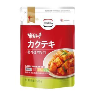 『宗家』 カクテキ|大根サイコロキムチ(500g) チョンガ 大根キムチ 韓国キムチ 韓国食材 韓国食品|paldo