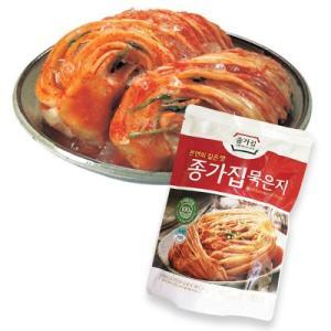 『宗家』熟成白菜キムチ|ムグンジ(500g) チョンガ 白菜キムチ 韓国キムチ 韓国おかず 韓国料理 韓国食材 韓国食品|paldo