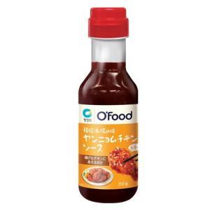 『清浄園』ヤンニョムチキンソース(甘辛・300g) 鶏揚げソース フライドチキン スパイシー たれ 韓国料理 韓国食品 paldo