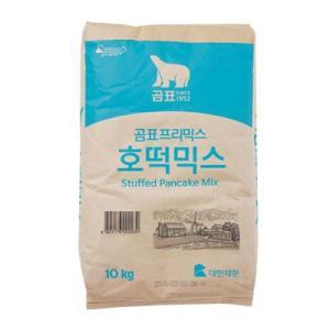 『コムピョウ』業務用ホットク ミックス(生地用粉・10kg) ホットック ホットッ おやつ お餅 韓国お菓子 韓国食品|paldo