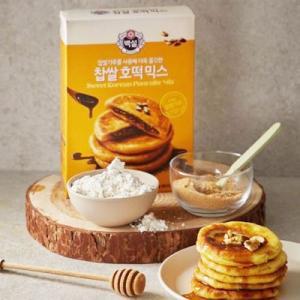 『CJ』白雪 餅米ホットクミックス(400g・約8枚分) ホットック ホットッ おやつ お餅 韓国お菓子 韓国食品|paldo|02