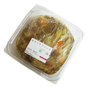 『自家製』ヤンニョム(味付け)牛プルコギ|韓国式味付け(1kg)  牛肉 焼肉 冷凍食品 加工食品 韓国料理 韓国食材|paldo
