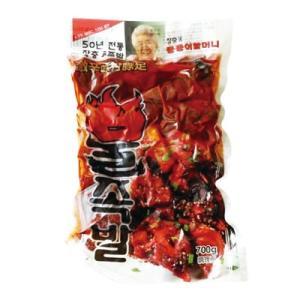 『匠忠洞』激辛味付け豚足(700g) [豚肉][加工食品][韓国料理]|paldo