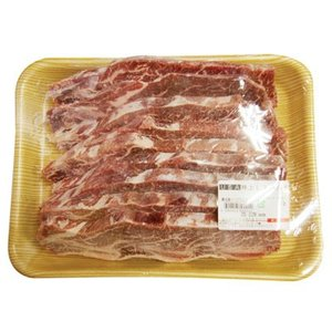 『牛肉類』特上LAカルビスライス(1kg・骨付き)■アメリカ産 お肉 牛肉 焼肉 カルビ 骨付きカルビ バーベキュー BBQ 冷凍食材|paldo