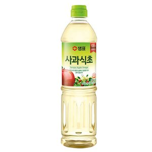 『センピョ』玄米酢(900ml) 調味酢 韓国調味料 韓国食材 韓国料理 韓国食品|paldo
