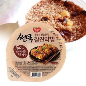 『東遠』もっちり美味しい薬食|ヤクシク(210g) ドンウォン ヤクシク ヤクパップ 韓国食品|paldo
