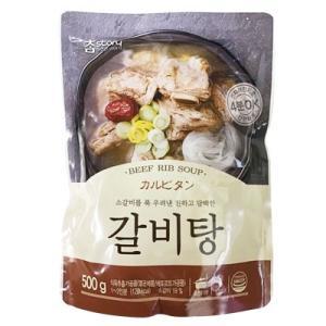 『チャムストーリー』カルビタン(500g・辛さ0) レトルト 韓国スープ 韓国鍋 韓国料理 チゲ鍋 韓国食品 paldo
