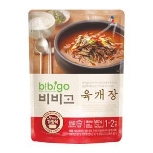 『CJ』bibigo韓飯ユッケジャン(500g・辛さ2) ビビゴ レトルト 韓国スープ 韓国鍋 韓国料理 チゲ鍋 韓国食品|paldo