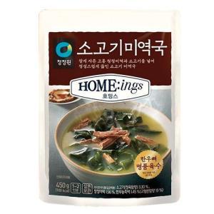 『CJ』bibigo韓飯牛肉ミヨックッ|牛肉ワカメスープ (500g) ビビゴ レトルト 韓国スープ 韓国鍋 韓国料理 チゲ鍋 韓国食品|paldo