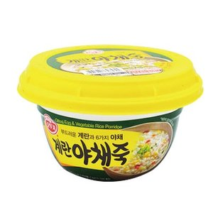 【期間限定SALE】『オットギ』たまご野菜お粥|スプーン付(285g) おかゆ レトルトお粥 朝食 1食置き換え 1食おきかえ 即席食品 韓国レトルト 韓国料理 韓国食品|paldo