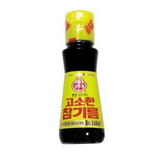 『オトギ』ごま油(110ml) オットギ 韓国調味料 韓国食材 韓国食品|paldo
