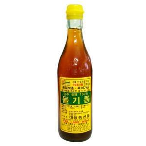 無地えごま油|直搾りエゴマ油(350ml)■韓国産100%[韓国食材][韓国食品]|paldo