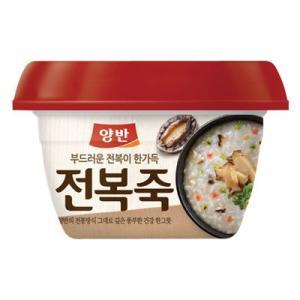 『東遠』ヤンバン あわびお粥|スプーン付(287.5g) ドンウォン おかゆ レトルトお粥 韓国レトルト 韓国食品|paldo