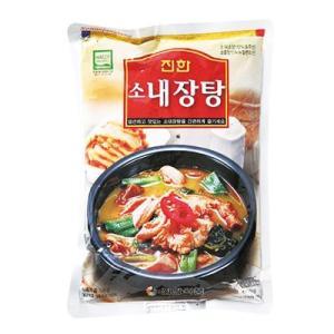『眞漢』牛ネジャンタン(600g・辛さ2) ジンハン レトルト 韓国スープ 韓国鍋|paldo