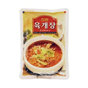 『眞漢』ユッケジャン(600g・辛さ2)  ジンハン レトルト 韓国スープ 韓国鍋|paldo