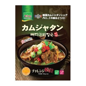 『故郷』カムジャタン|骨ヘジャンスープ(500g・辛さ2) [レトルト][韓国スープ][韓国鍋]|paldo