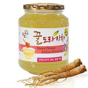 『コッセム』蜂蜜ドラジ茶 蜂蜜桔梗茶(580g) キキョウ茶 健康茶 韓国茶 のど 冷え性 韓国飲料 韓国飲み物 韓国食品 paldo