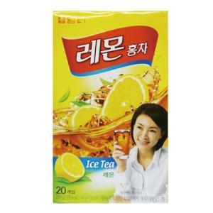 『タムト』レモン紅茶(15g×20包・スティック粉末状) 粉末茶 アイスティー 韓国お茶 韓国食材 韓国食品 paldo